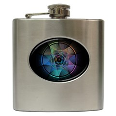 Pi Visualized Hip Flask by mousepads123