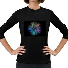 Pi Visualized Women s Long Sleeve T Shirt (dark Colored)