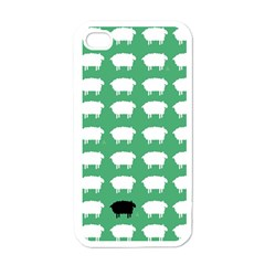 Herd Mentality  Apple Iphone 4 Case (white) by Contest1888309
