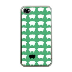 Herd Mentality  Apple Iphone 4 Case (clear) by Contest1888309