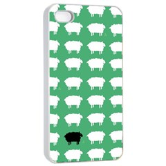 Herd Mentality  Apple Iphone 4/4s Seamless Case (white)