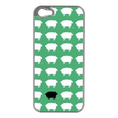 Herd Mentality  Apple Iphone 5 Case (silver) by Contest1888309