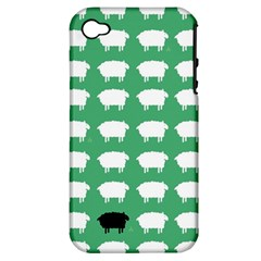 Herd Mentality  Apple Iphone 4/4s Hardshell Case (pc+silicone) by Contest1888309