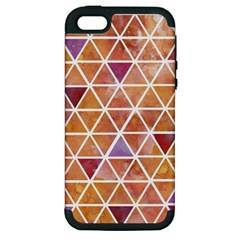 Geometrics Apple Iphone 5 Hardshell Case (pc+silicone) by Contest1888309