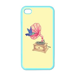 Bird Love Music Apple Iphone 4 Case (color) by Contest1736674