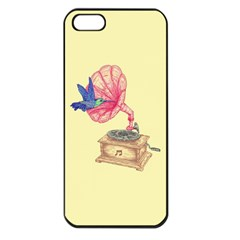 Bird Love Music Apple Iphone 5 Seamless Case (black)