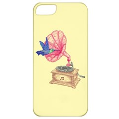Bird Love Music Apple Iphone 5 Classic Hardshell Case by Contest1736674