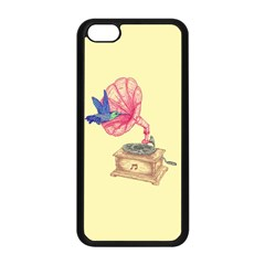 Bird Love Music Apple Iphone 5c Seamless Case (black) by Contest1736674