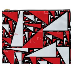 Titillating Triangles Cosmetic Bag (xxxl) by StuffOrSomething