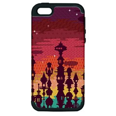 Meet Me After Sunset Apple Iphone 5 Hardshell Case (pc+silicone) by Contest1888822