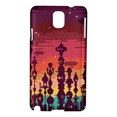 Meet Me After Sunset Samsung Galaxy Note 3 N9005 Hardshell Case by Contest1888822