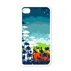 Rainforest City Apple Iphone 4 Case (white) by Contest1888822