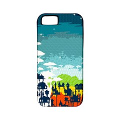 Rainforest City Apple Iphone 5 Classic Hardshell Case (pc+silicone)
