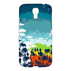 Rainforest City Samsung Galaxy S4 I9500/i9505 Hardshell Case by Contest1888822
