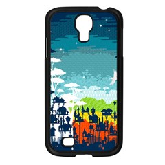 Rainforest City Samsung Galaxy S4 I9500/ I9505 Case (black) by Contest1888822