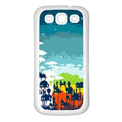 Rainforest City Samsung Galaxy S3 Back Case (white) by Contest1888822