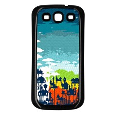 Rainforest City Samsung Galaxy S3 Back Case (black) by Contest1888822