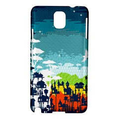 Rainforest City Samsung Galaxy Note 3 N9005 Hardshell Case by Contest1888822