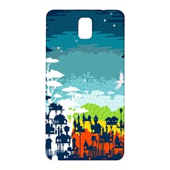 Rainforest City Samsung Galaxy Note 3 N9005 Hardshell Back Case by Contest1888822