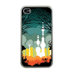 A Discovery In The Forest Apple Iphone 4 Case (clear)