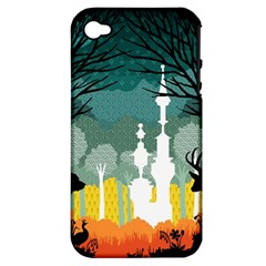 A Discovery In The Forest Apple Iphone 4/4s Hardshell Case (pc+silicone) by Contest1888822