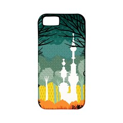 A Discovery In The Forest Apple Iphone 5 Classic Hardshell Case (pc+silicone)