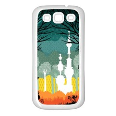 A Discovery In The Forest Samsung Galaxy S3 Back Case (white)