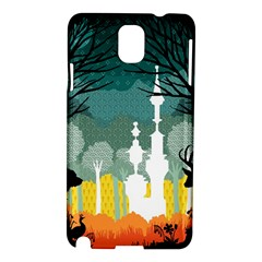 A Discovery In The Forest Samsung Galaxy Note 3 N9005 Hardshell Case by Contest1888822