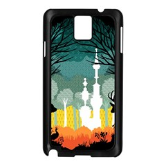 A Discovery In The Forest Samsung Galaxy Note 3 N9005 Case (black) by Contest1888822