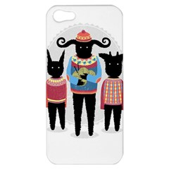 Nightmare Knitting Party Apple Iphone 5 Hardshell Case by Contest1888822