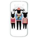 Nightmare Knitting Party Samsung Galaxy S3 S III Classic Hardshell Back Case Front