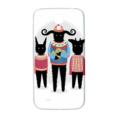 Nightmare Knitting Party Samsung Galaxy S4 I9500/i9505  Hardshell Back Case by Contest1888822
