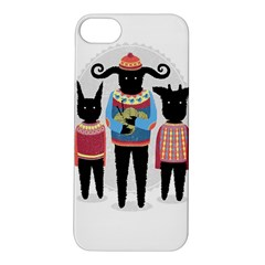 Nightmare Knitting Party Apple Iphone 5s Hardshell Case by Contest1888822