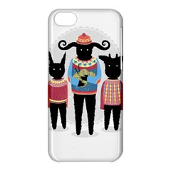 Nightmare Knitting Party Apple Iphone 5c Hardshell Case by Contest1888822