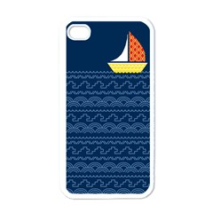 Sail The Seven Seas Apple Iphone 4 Case (white) by Contest1888822