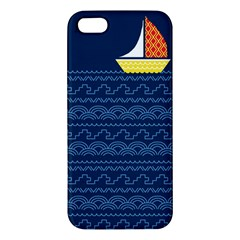 Sail The Seven Seas Apple Iphone 5 Premium Hardshell Case by Contest1888822