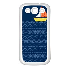 Sail The Seven Seas Samsung Galaxy S3 Back Case (white) by Contest1888822