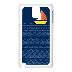 Sail The Seven Seas Samsung Galaxy Note 3 N9005 Case (white) by Contest1888822
