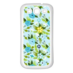 Flower Bucket Samsung Galaxy S3 Back Case (white) by Contest1888822