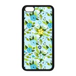 Flower Bucket Apple iPhone 5C Seamless Case (Black) Front