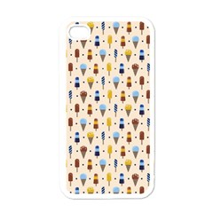 Ice Cream! Apple Iphone 4 Case (white) by Contest1888822
