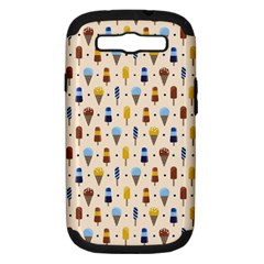 Ice Cream! Samsung Galaxy S Iii Hardshell Case (pc+silicone) by Contest1888822