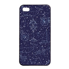 Constellations Apple Iphone 4/4s Seamless Case (black)