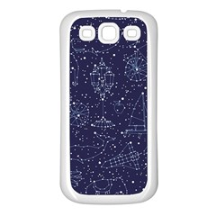 Constellations Samsung Galaxy S3 Back Case (white) by Contest1888822