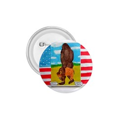 Big Foot,bison U,s,a, Flag 1 75  Button by creationtruth