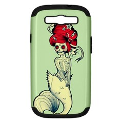 Once A Mermaid Samsung Galaxy S Iii Hardshell Case (pc+silicone) by TheTalkingDead