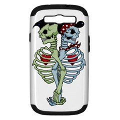 Love Me Forever Samsung Galaxy S Iii Hardshell Case (pc+silicone) by TheTalkingDead