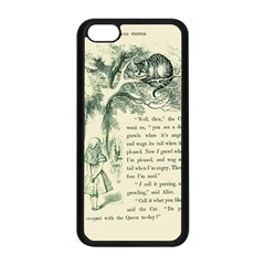 Alice In Bookland Apple Iphone 5c Seamless Case (black) by TheTalkingDead