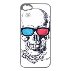3death Apple Iphone 5 Case (silver) by Contest1889625