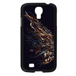 A Beautiful Beast Samsung Galaxy S4 I9500/ I9505 Case (Black) Front